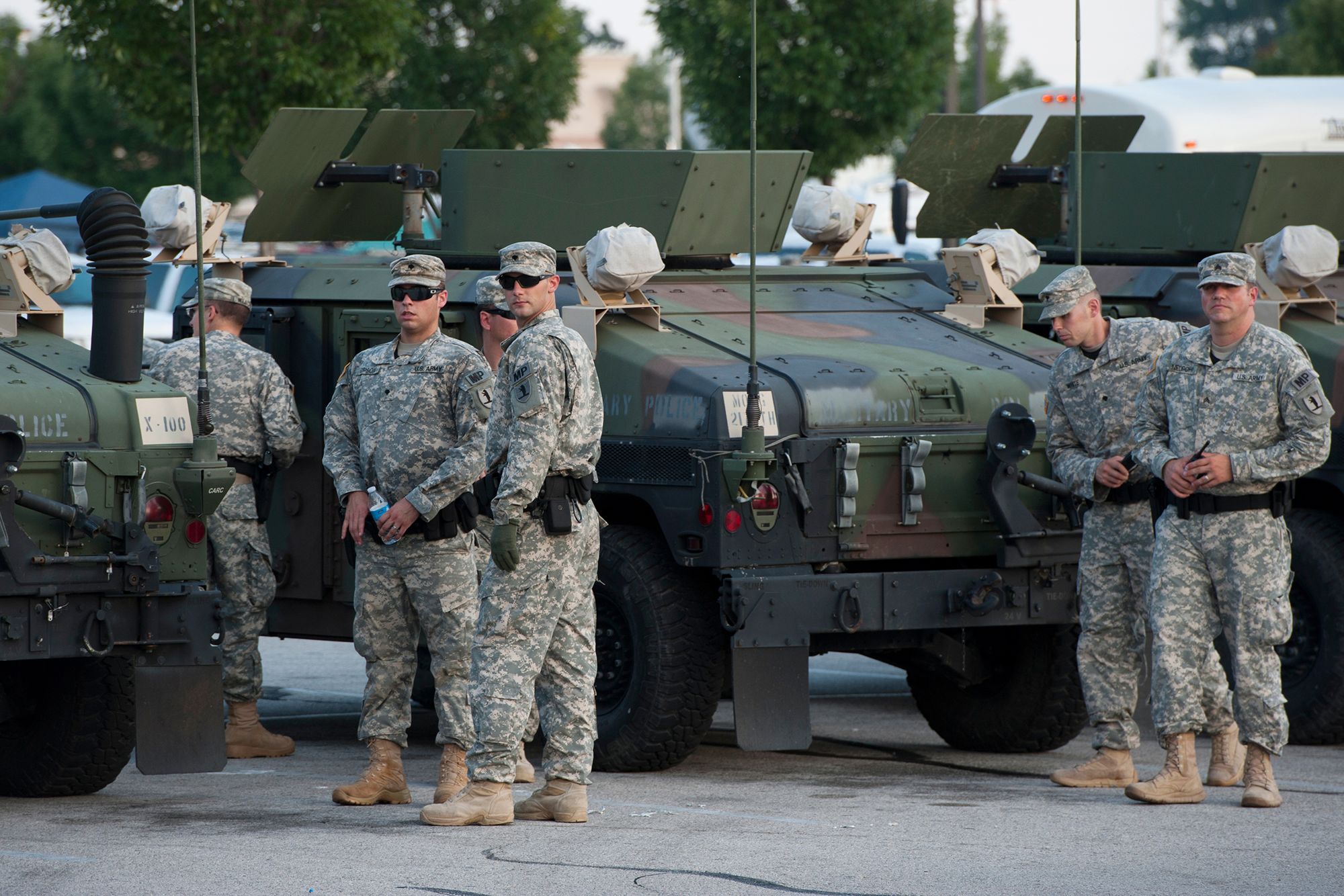Is The National Guard Making Things Worse In Ferguson