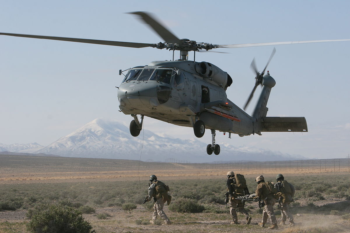 10 MH-60R Seahawk Helicopters