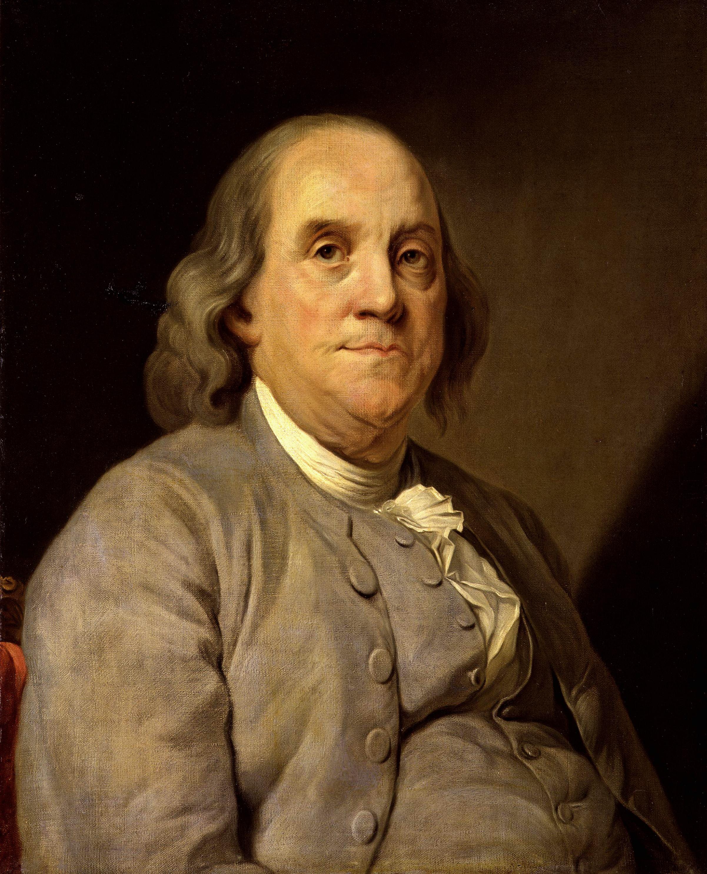 1) Benjamin Franklin