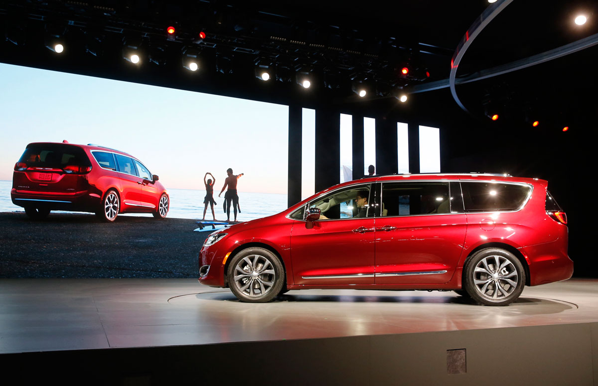 The 2017 Chrysler Pacifica
