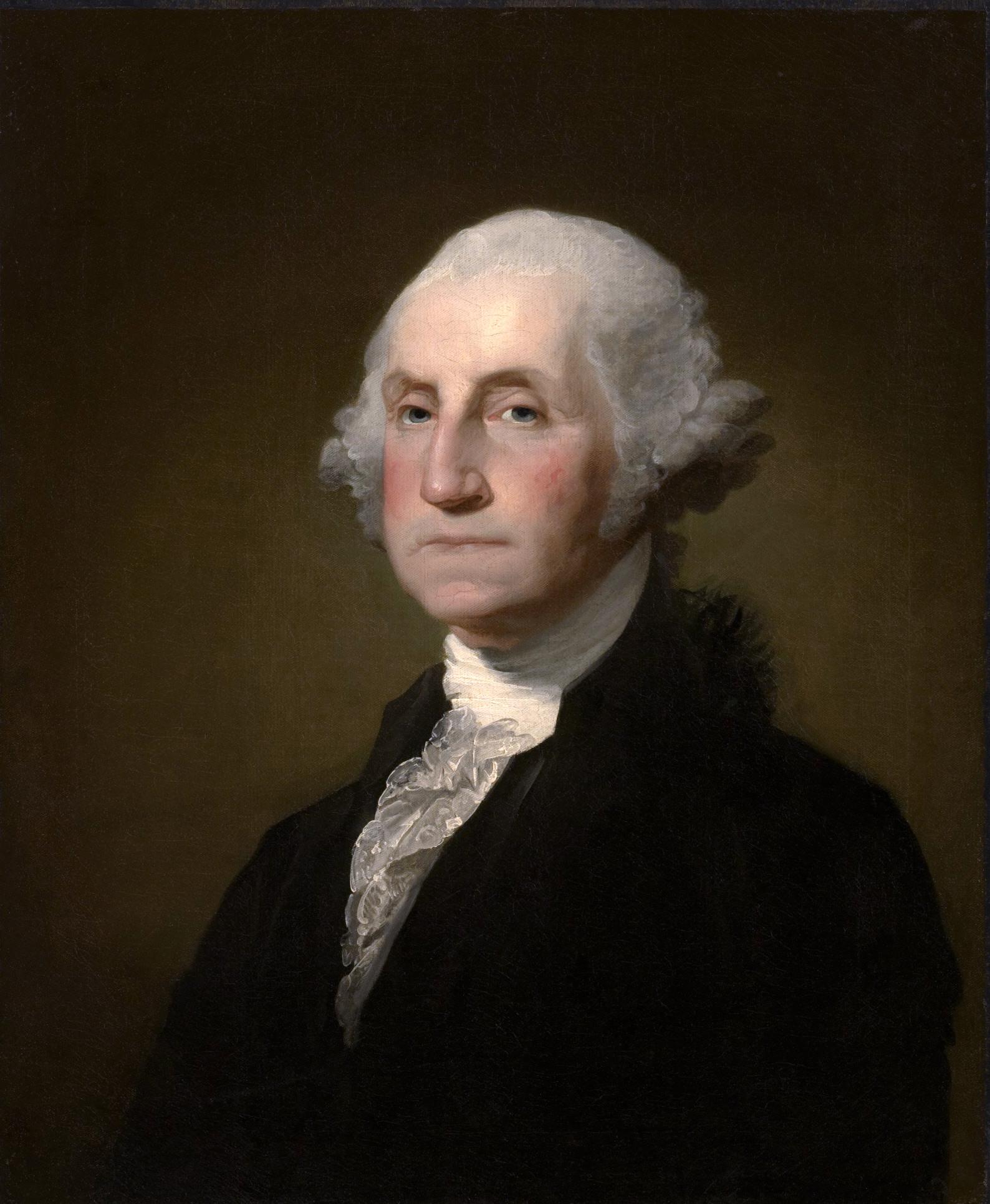 2) George Washington