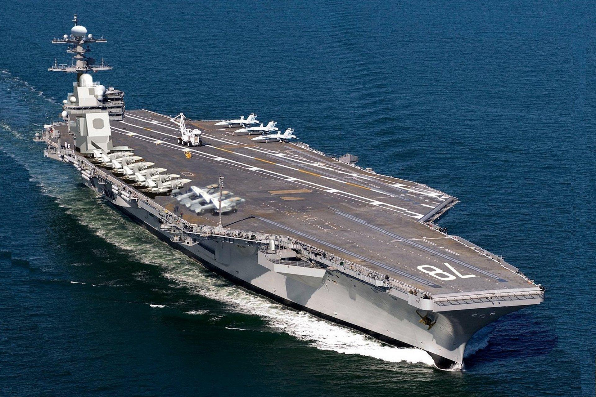 USS Gerald Ford carrier - $38 billion