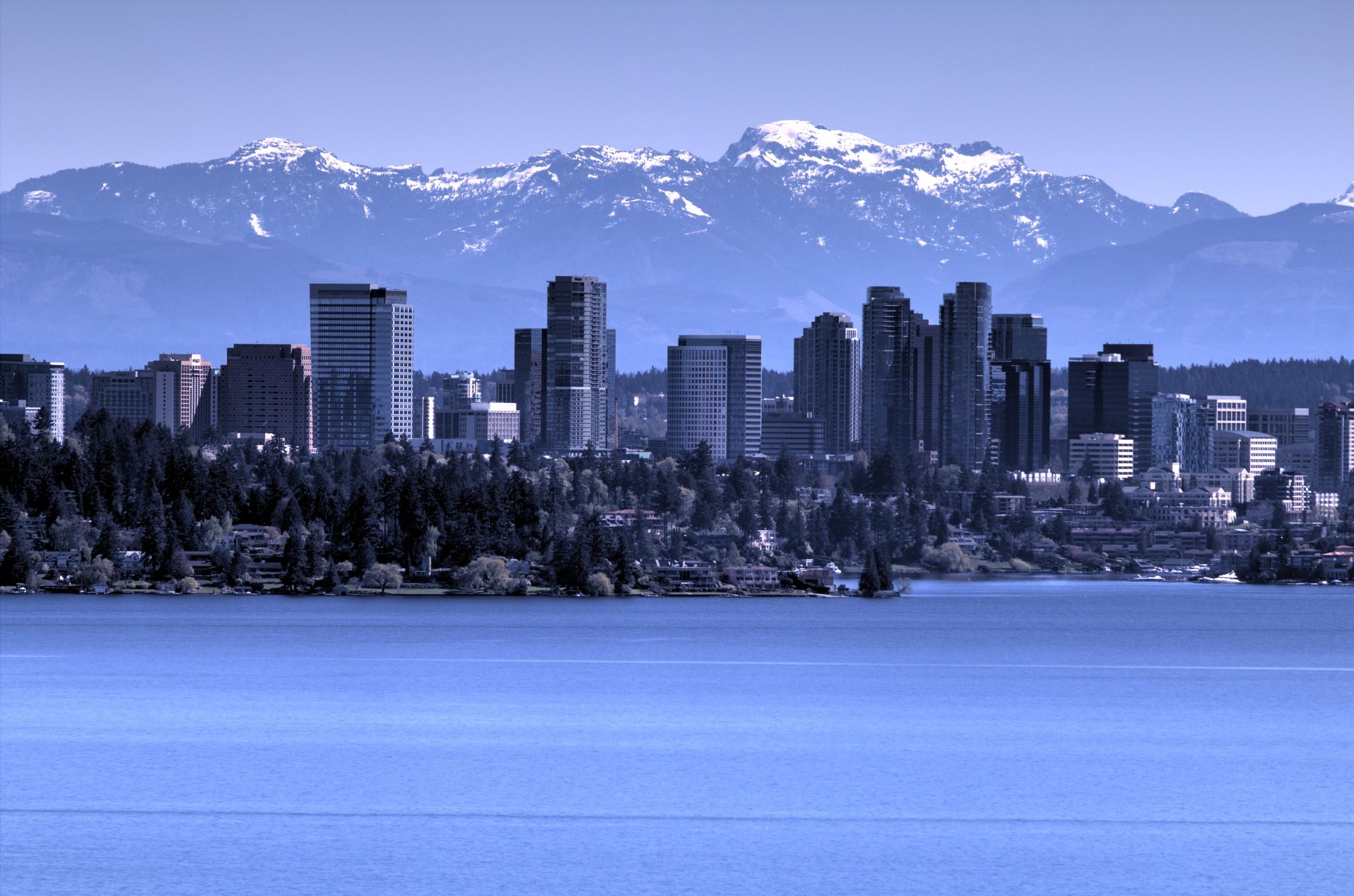 2. Bellevue, Washington
