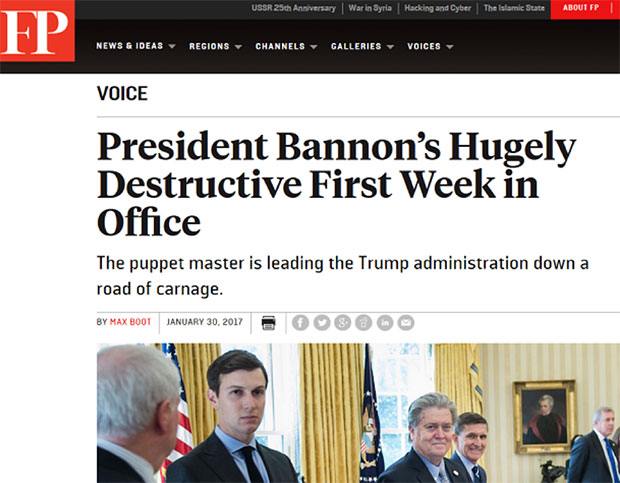U.S. President Steve Bannon Foreign-policy-screenshot