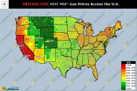 Gas Prices by County