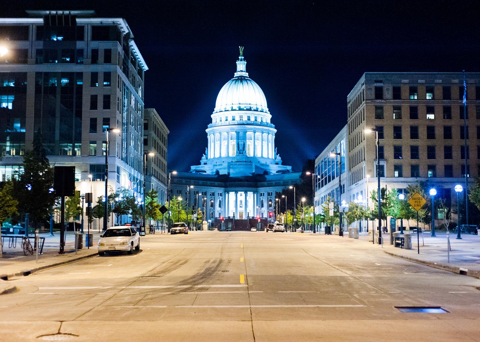 3. Madison, Wisconsin