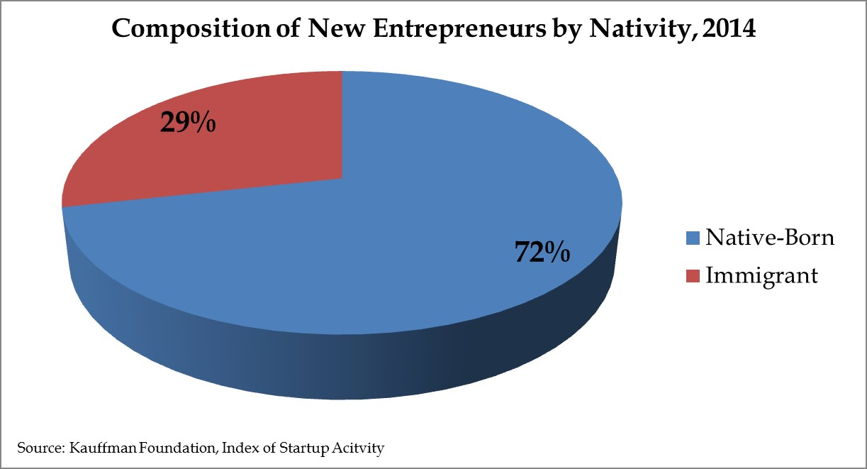 New Entrepreneurs by Nativity