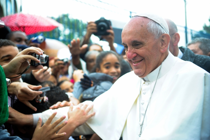 Pope Francis on world tour