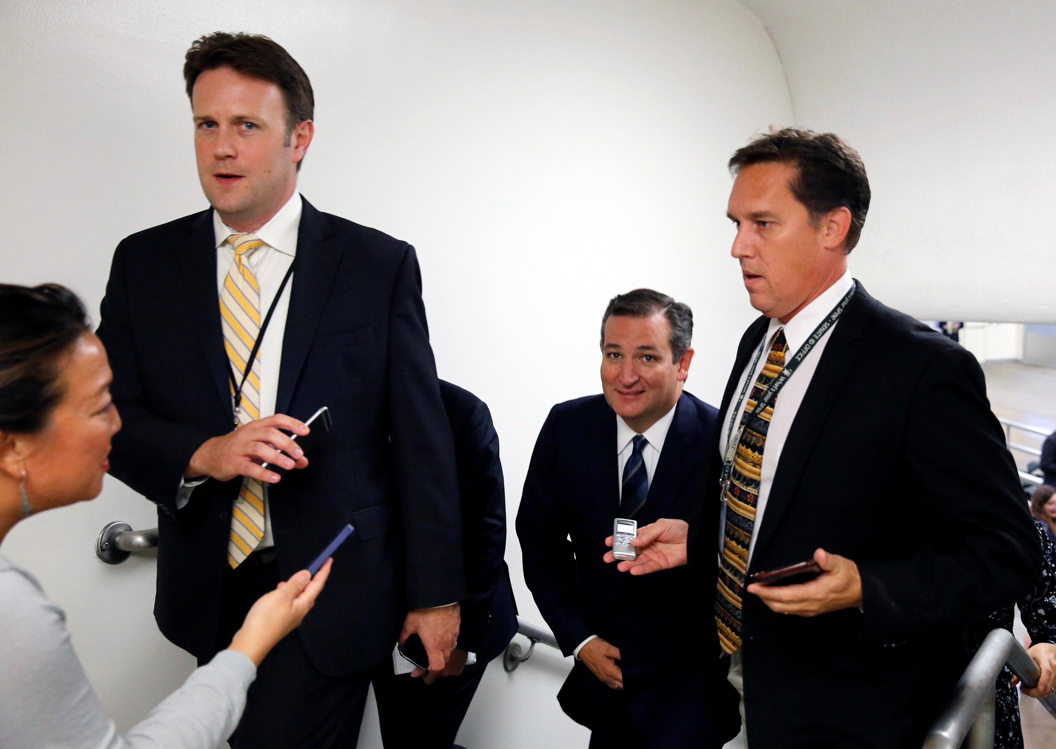 politics government shutdown funding vote senate continuing resolution