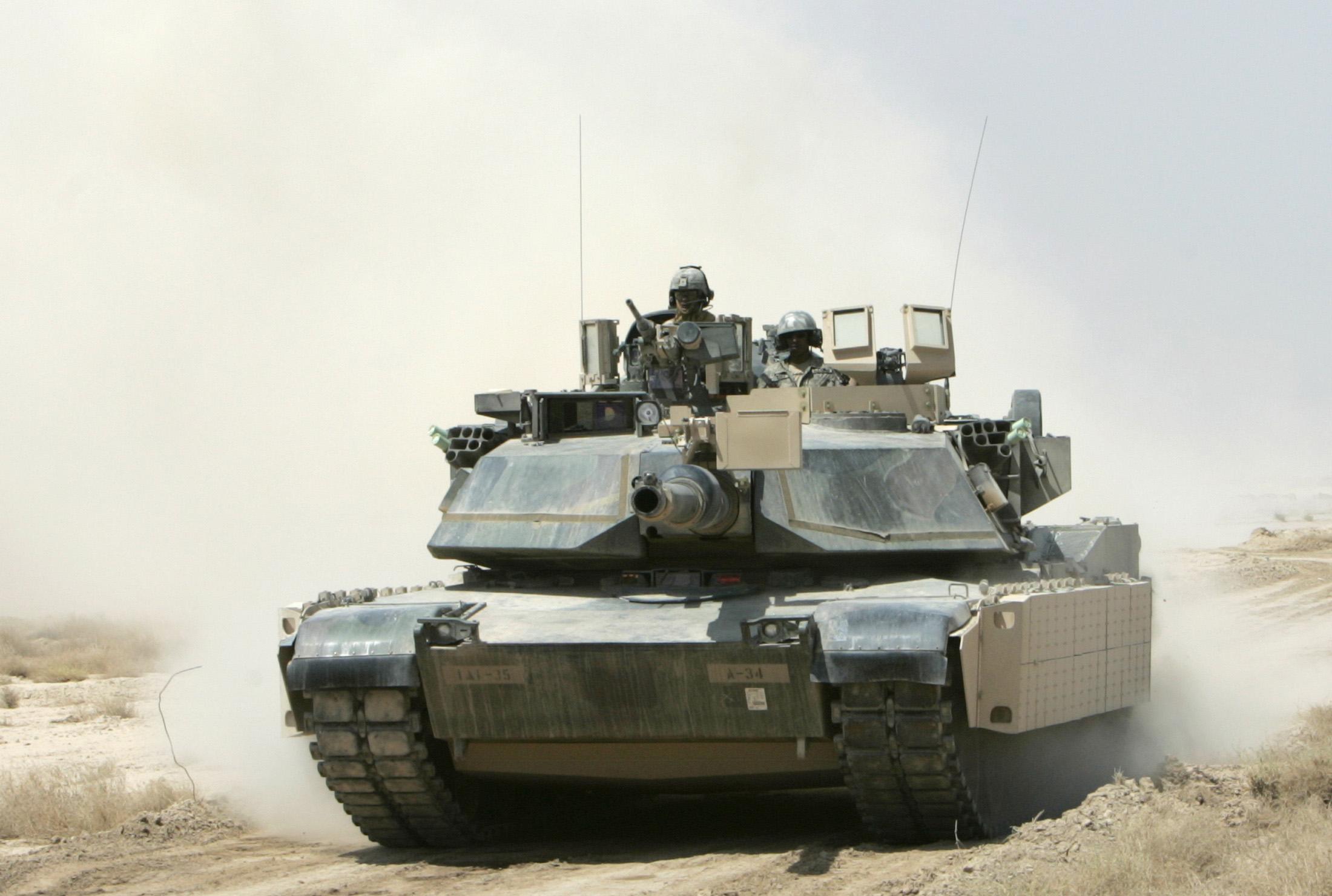 The Abrahams A1 tank - $400 million