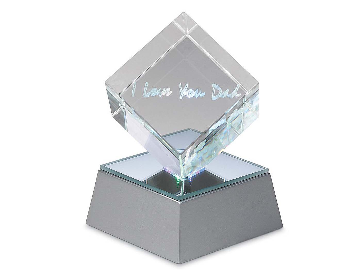 """""""I Love You Dad"""" Lighted Cube - $15.99"""