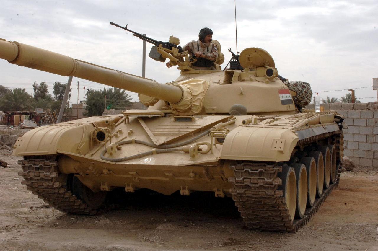 Soviet-era T-72 Tanks
