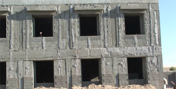 <p>The United States paid $14 for a square meter of concrete that was estimated to cost $3.46.</p>