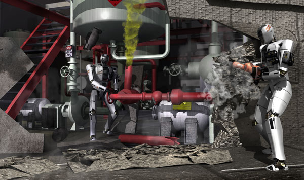 <p>Think your robot pass DARPA's Tactical Technology Office test? Here's what your bot has to do:</p>    <p>1. Drive a utility vehicle at the site.<br />2. Travel dismounted across rubble.<br />3. Remove debris blocking an entryway.<br />4. Open a door