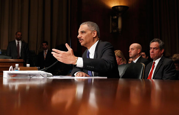 <p>Obama Administration (D) </p>    <p>Attorney General Eric Holder was held in contempt of Congress after refusing to release all documents that House lawmakers had demanded. The sting operation allowed weapons from the U.S. to pass into the hands of s