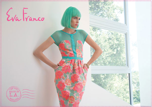 <strong>Founder: </strong>Eva Franco<br /><strong>Year Launched:</strong> 2008<br /><strong>Factory Location:</strong> Los Angeles, CA<br /><strong>How It Started:</strong> The Romanian-born and Paris-trained designer began selling her romantic collecti
