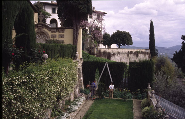 <p>Students studying abroad in Fiesole, Italy, spend a semester living in at the Villa Le Balze, a Renaissance-style estate in the center of the Tuscan hills. It sits on three hectares of land with gardens and olive groves. Students spend the semester s