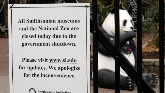 National Zoo closed in due to the partial government shutdown in Washington