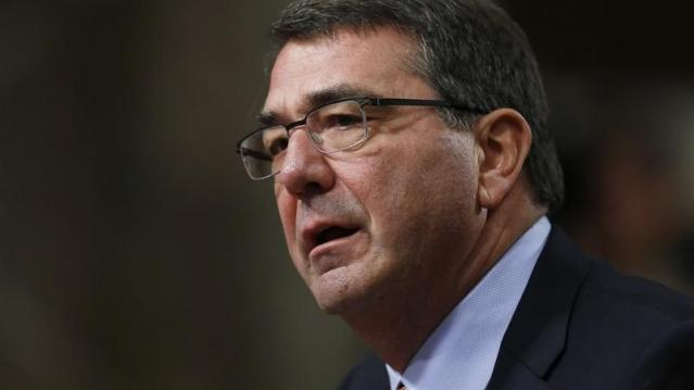 Ashton Carter, U.S. President Barack Obama's nominee to be secretary of defense, testifies before a Senate Armed Services Committee confirmation hearing on Capitol Hill in Washington, February 4, 2015.  REUTERS/Gary Cameron