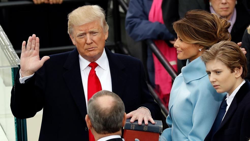 Trump proclaims his Inauguration Day a National Day of Patriotic Devotion