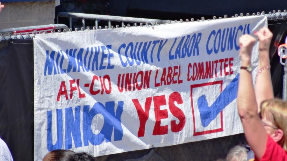 Union membership down almost 40 percent in Wisconsin