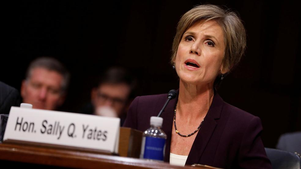 Trump Called Sally Yates 'Somebody Who We Don't Even Know'