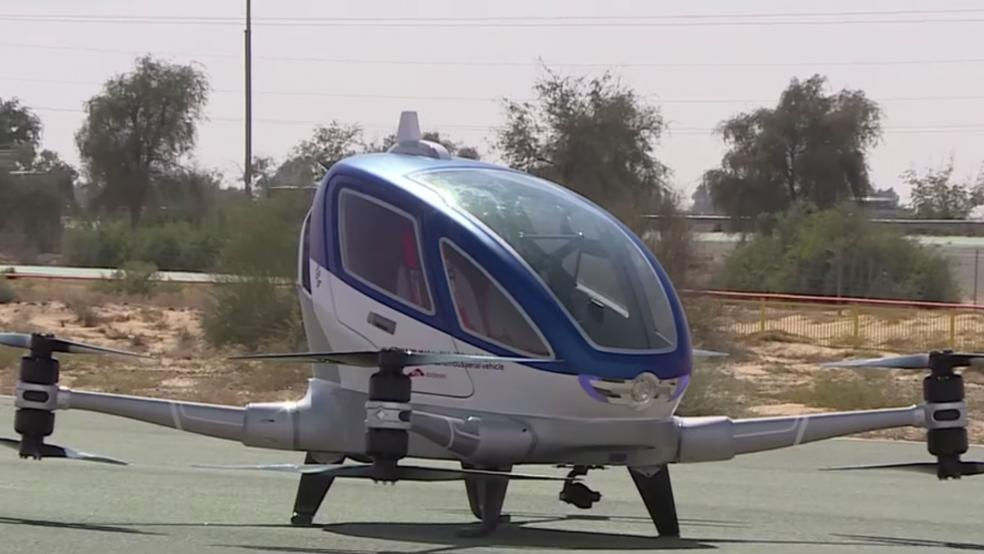 Dubai to Debut First Passenger Drones This Summer