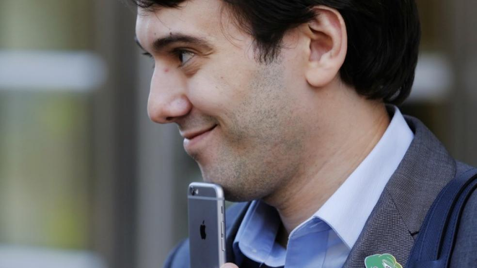 The 9 Most Punchable Martin Shkreli Faces (Just From Today)