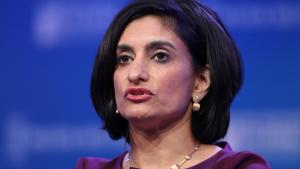 Seema Verma, Administrator of Centers for Medicare and Medicaid Services, U.S. Department of Health and Human Services, speaks at the 2019 Milken Institute Global Conference in Beverly Hills