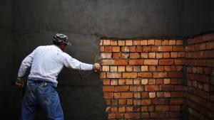 Helpers of brickmasons and tile setters