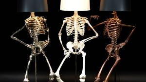 Philippe Skeleton Floor Lamp