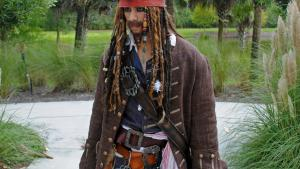 Pirates of the Caribbean's Jack Sparrow