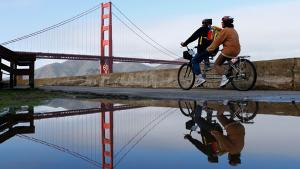 <p>If you're looking to adopt a healthier lifestyle, there's no better setup than San Francisco, according to Trulia's findings. Not only is it the No. 1 destination for healthy food options, but its bike- and pedestrian-friendly streets make it a dream