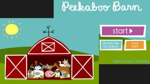 <b>Price:</b> $1.99 ($2.99 for the Android)<br><b>Recommended ages:</b> 1-3 <br><br>According to developer Night and Day Studios, Peekaboo Barn was one of the first apps to be released for toddlers in 2008, and has been downloaded over a half a million ti