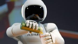 <p>Honda is continuing to refine a robot it developed in 2006, ASIMO, a four-foot-three robot that can help around the house or assist someone confined to a bed or wheelchair.</p>