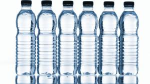We can't live without H20; assuming we can solve the pesky issue of all the plastic, whether via recycling or reusable containers, bottles of fresh water of various sizes could easily fill the role of a currency , whether in the gyms of Manhattan or the m