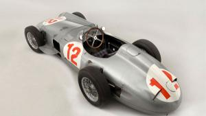 <p>    </p>    <p>      <strong>Final price at auction:</strong> $29.5 Million</p>    <p>      <strong>Year Manufactured:</strong> 1954 </p>    <p>      <strong>Auctioned:</strong> July 2013, Chichester, UK</p><p>      <strong>Auctioned By:</strong> Bon
