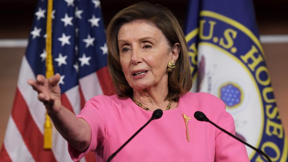 Speaker Pelosi On Infrastructure And Budget Legislation Bill Press Conference