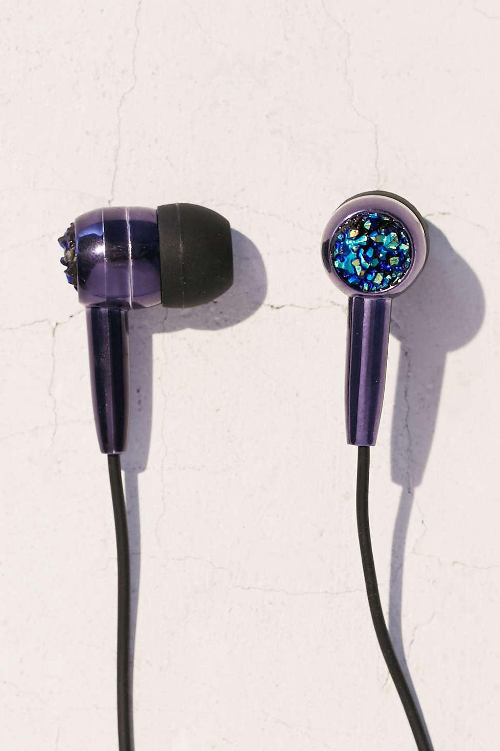 Tech: Skinnydip Pyrite Earbud Headphones, $20