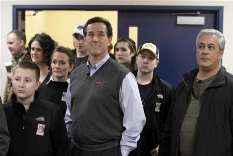 "Call it the ""Mr. Rogers Effect"" if you want, but many are crediting Rick Santorum's surprising second-place finish in the Iowa caucuses to his heart-felt conservatism, relentless campaigning and, yes, his wide array of sleeveless V-neck sweater vests. The"