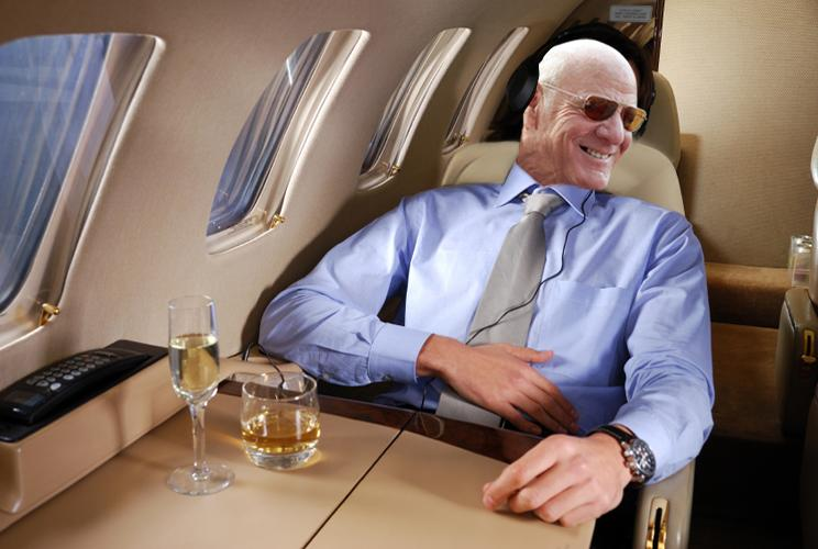 "IAC/InterActiveCorp. (IACI), where Diller chairman and ""senior executive"" reported spending  $644,530 for his personal flights, while Expedia (EXPE), where he holds the same titles, clocked another $605,786."