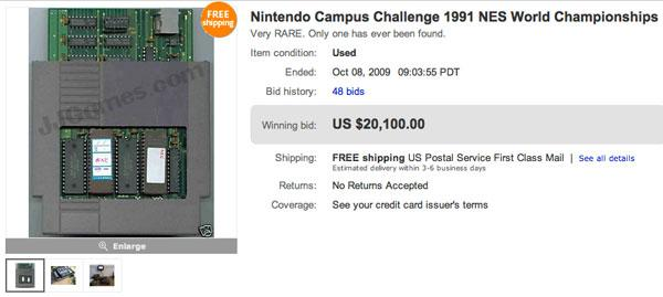 "<strong>Value:</strong> $50,000<br /><strong>Price Paid: </strong>$50 <br />Gamer Rob Walters picked up <a href=""http://gizmodo.com/5377306/strange-one+of+a+kind-nintendo-cartridge-fetches-highest-price-yet"" target=""_blank"">a box of Nintendo games</a> a"