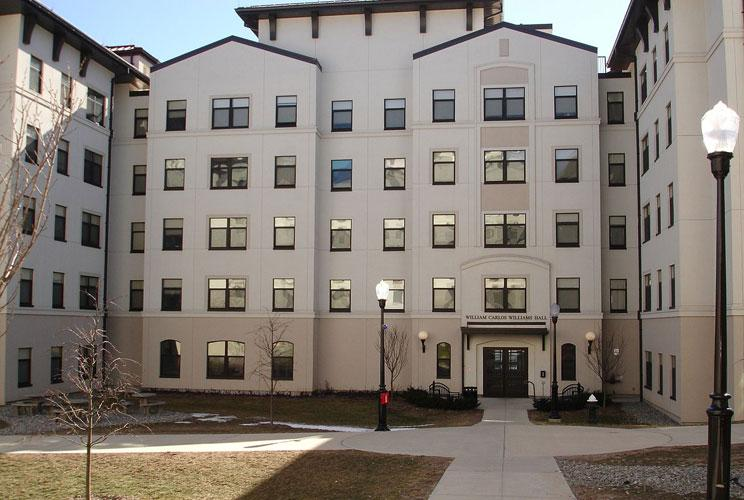 <p>The university's newest residence hall complex opened in the fall 2011—it's the largest residence and dining complex in New Jersey. It features single and double rooms with no more than two students sharing a bathroom, a community kitchen, multiple g