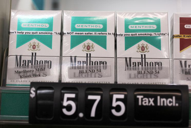 Cigarettes are taxed at $1 a pack on the federal level. Cigars are taxed between five cents and 40 cents each, depending on the size of the cigar. There also are taxes on pipe tobacco, snuff and other processed tobacco products. The money goes to the fede