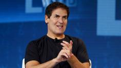 Mark Cuban, owner of the NBA Dallas Mavericks,  speaks during the Wall Street Journal Digital Live ( WSJDLive ) conference at the Montage hotel in Laguna Beach