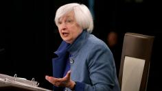U.S. Federal Reserve Chair Yellen holds news conference following FOMC meeting in Washington