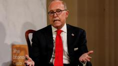 White House economic adviser Larry Kudlow speaks during a meeting of the Economic Club of New York in New York
