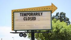 Stores all over Las Cruces close down temporarily due to Coronavirus concerns.Sign 1