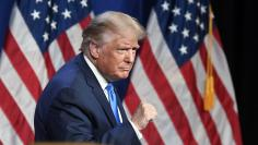 Aug. 24, 2020; Charlotte, NC, USA; President Donald Trump speaks at the Republican National Convention in Charlotte, N.C.,