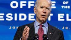 U.S. President-elect Joe Biden announces economics and jobs team nominees at transition headquarters in Wilmington, Delaware